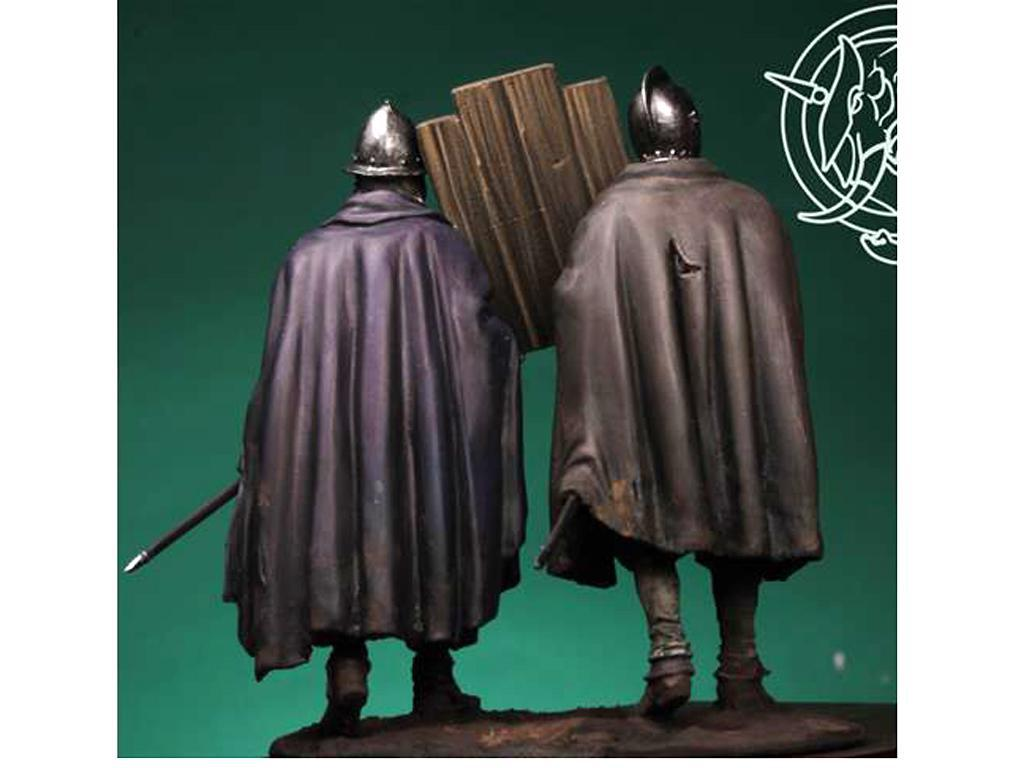 Soldados de los Tercios de Bobadilla, Empel 1585 (Vista 2)