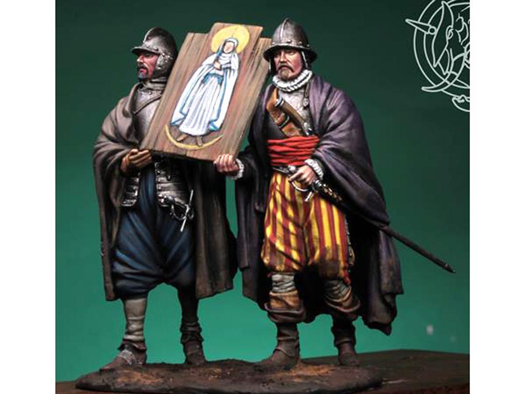 Soldados de los Tercios de Bobadilla, Empel 1585 (Vista 3)