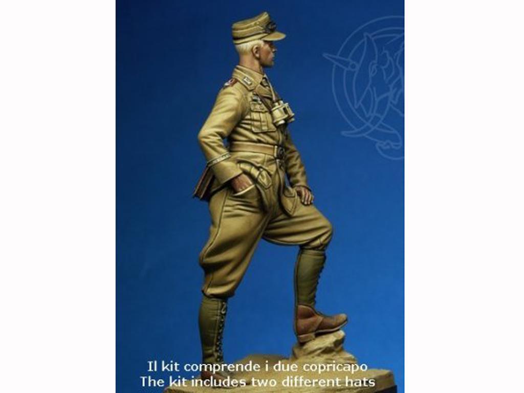 Artillery 1st Lieutenant - Deutsche Afri (Vista 2)