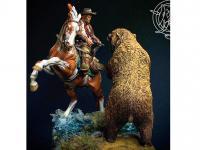 Ataque del oso pardo, 1880 (Vista 10)
