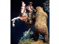 Ataque del oso pardo, 1880 (Vista 14)