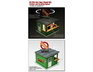 Panel rotacional Hot-Dog con luces  (Vista 1)
