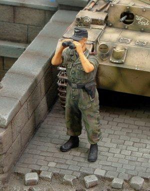 Tanquista Waffen SS  (Vista 1)