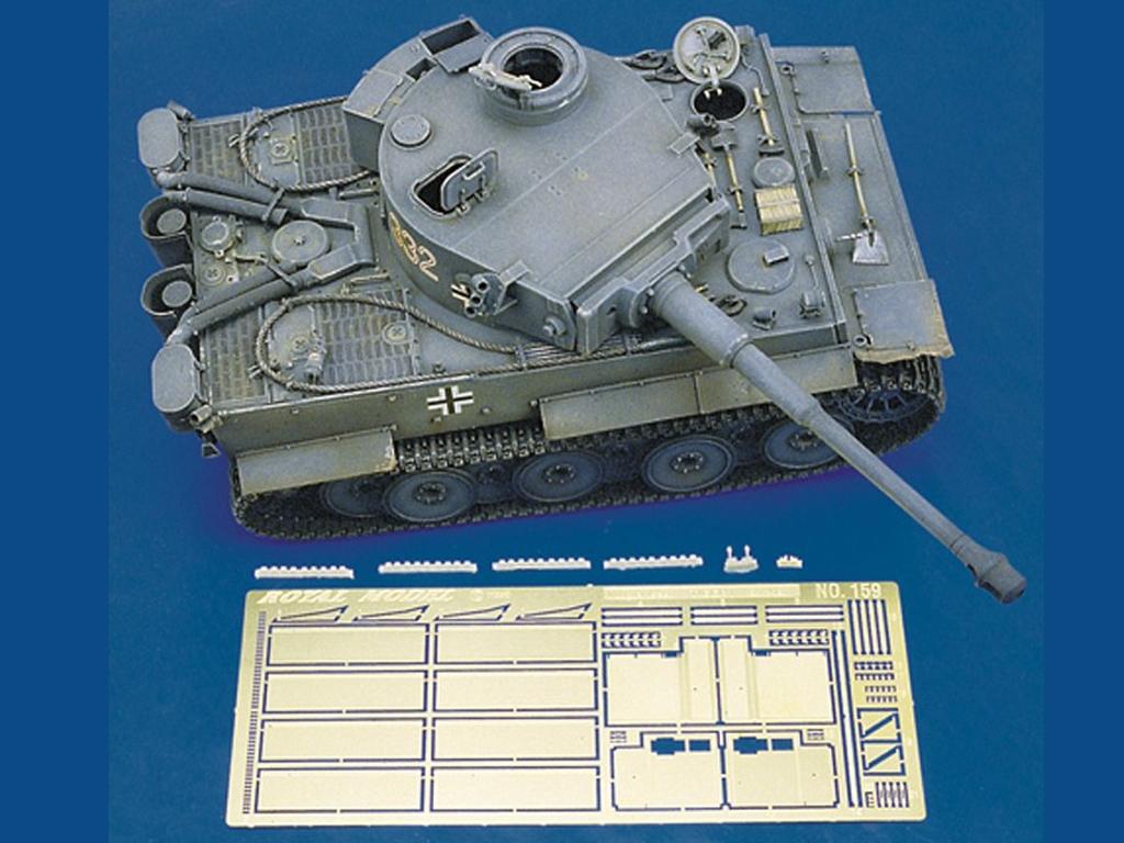 Guardabarros set Tiger I - Ref.: ROYA-159
