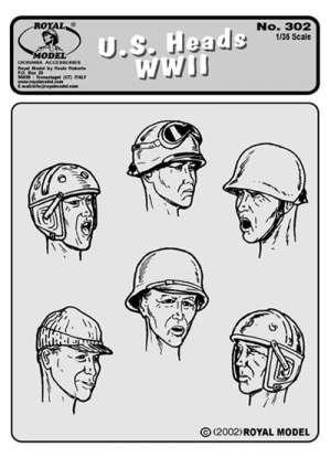 Cabezas U.S.A.  WWII Nº 1  (Vista 1)