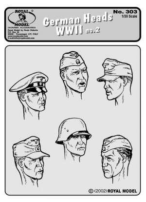Cabezas Alemanas WWII  (Vista 1)
