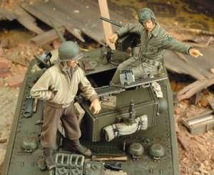 Tripulación del M3A3 Stuart  (Vista 1)