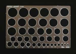 Plantilla circular para enmascarar  (Vista 1)
