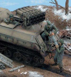 Panzerwerfer 42 Crew-Russia 42  - Ref.: ROYA-451