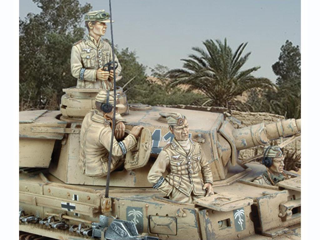 Tanquistas Alemanes Pz. Kpfw. IV Ausf. E  (Vista 1)