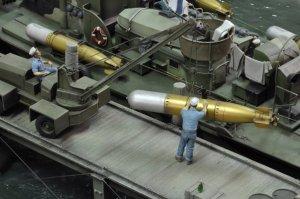 Seccion de muelle de puerto - Ref.: ROYA-531