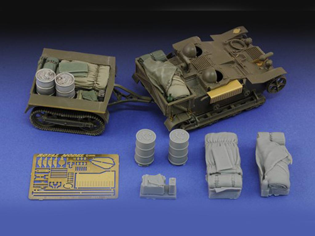 French Armored Carrier UE & stowage - Ref.: ROYA-601