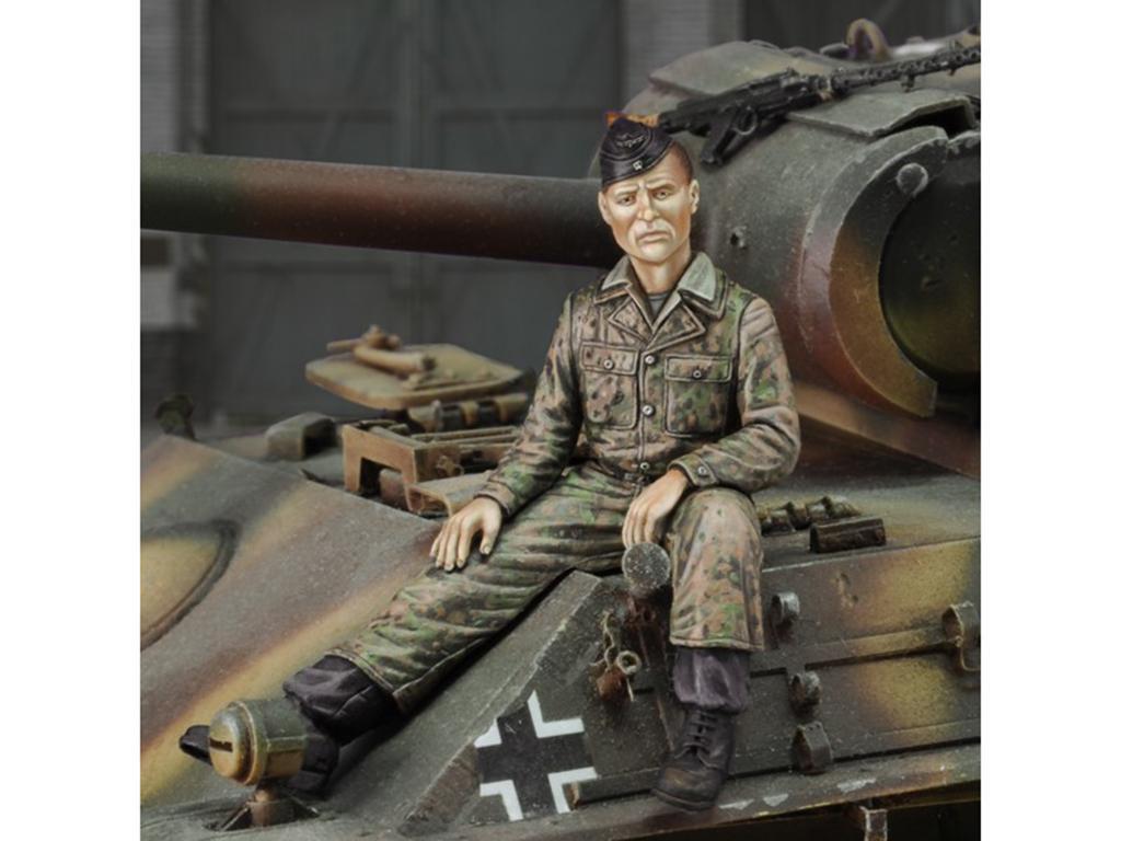Crewman SS Panzerdivision  (Vista 1)