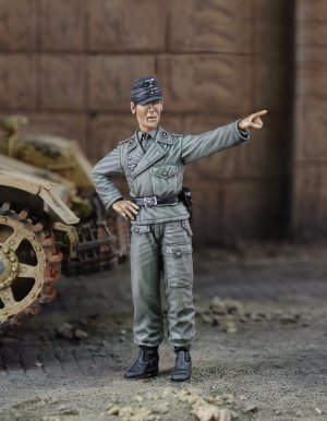 Tripulante de Panzer IV   (Vista 1)