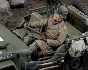 Conductor Jeep de EE.UU. Infantería  - Ref.: ROYA-660