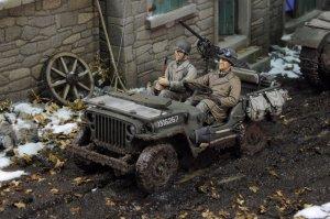 Conductor Jeep de EE.UU. Infantería   (Vista 2)