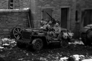 Conductor Jeep de EE.UU. Infantería   (Vista 3)
