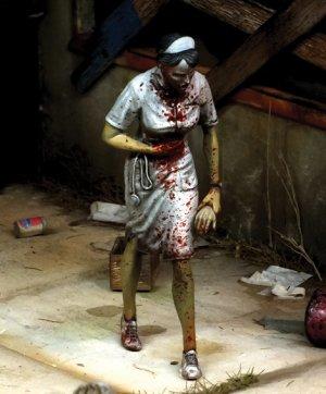 Enfermera zombie  (Vista 1)