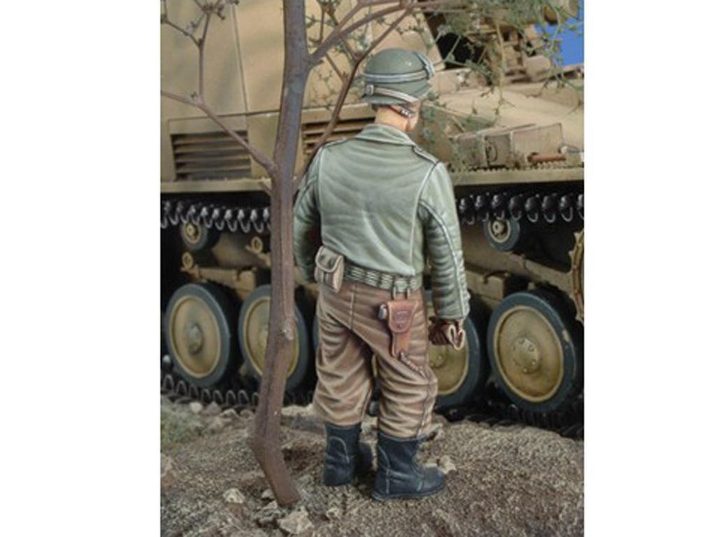 Tanquista US con ametralladora Thompson (Vista 3)