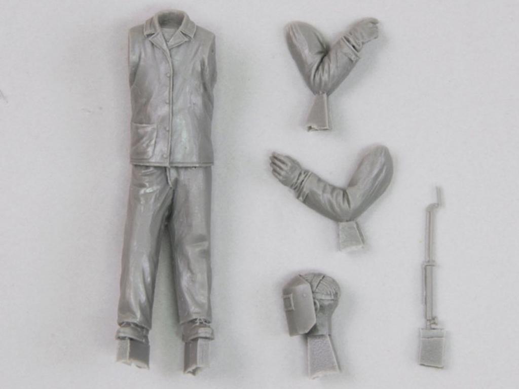 Hombre con soldadora eléctrica Nº 3 (Vista 3)