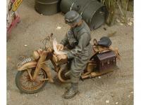 Conductor Motocicleta Alemana DKW (Vista 2)