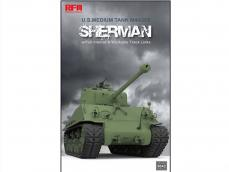 M4A3 76W HVSS Sherman with full interior & workable track links - Ref.: RYEF-5042