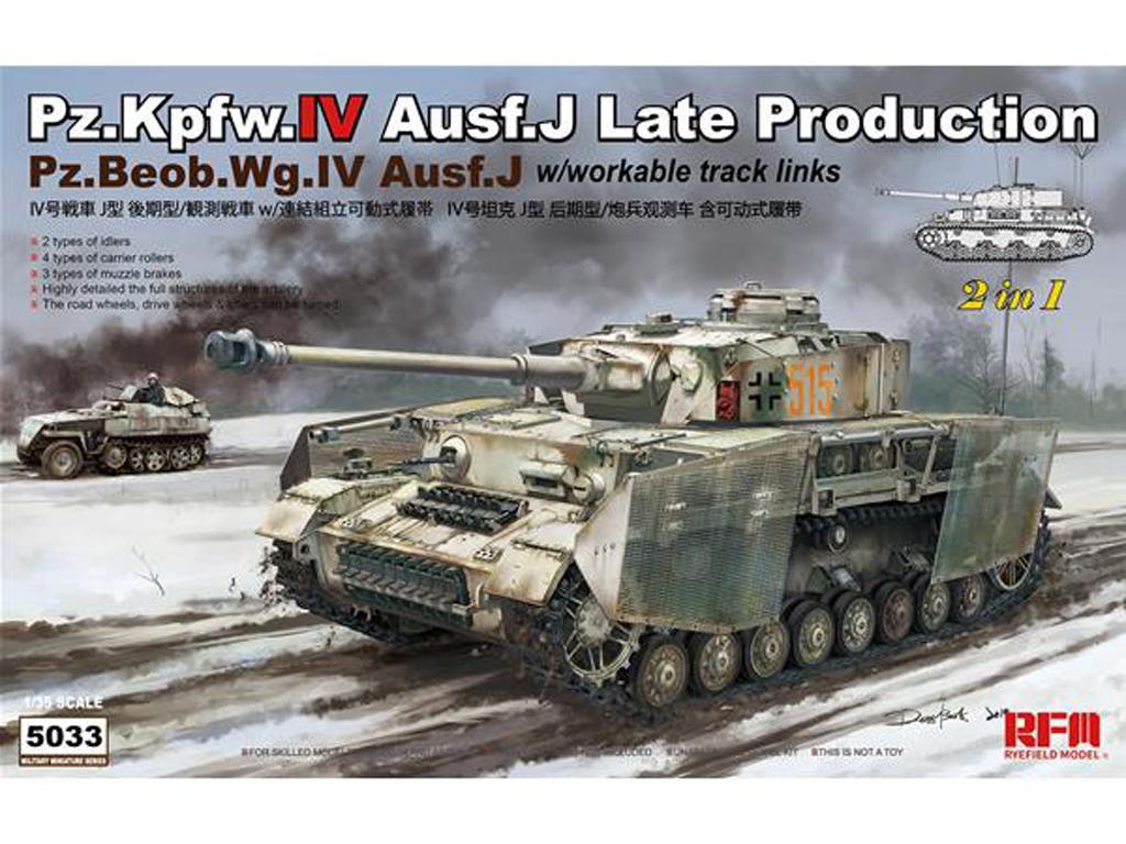 Pz.kpfw.IV Ausf.J Late Prod. Pz.Beob.Wg.IV Ausf.J 2in1 (Vista 1)