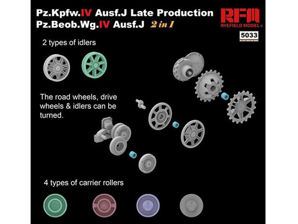 Pz.kpfw.IV Ausf.J Late Prod. Pz.Beob.Wg.IV Ausf.J 2in1 (Vista 2)