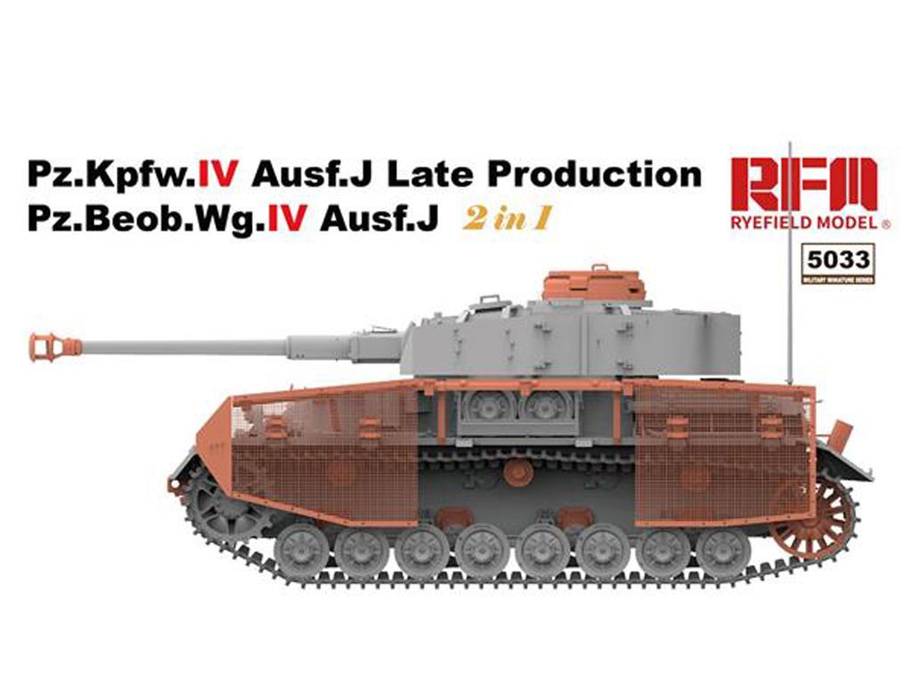 Pz.kpfw.IV Ausf.J Late Prod. Pz.Beob.Wg.IV Ausf.J 2in1 (Vista 3)