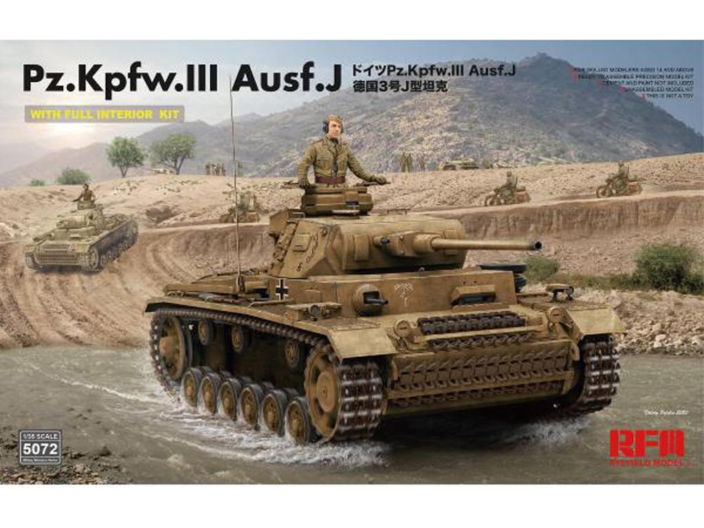 Pz. Kpfw. III Ausf. J with full interior (Vista 1)
