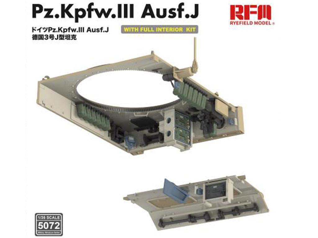 Pz. Kpfw. III Ausf. J with full interior (Vista 2)