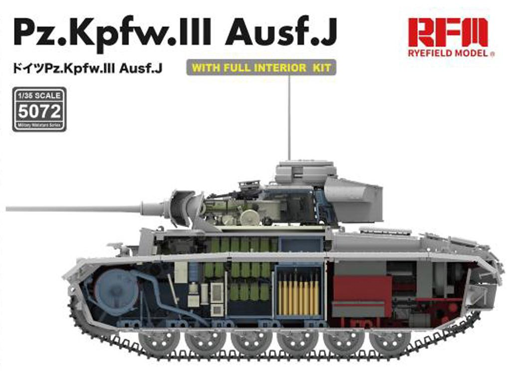 Pz. Kpfw. III Ausf. J with full interior (Vista 3)