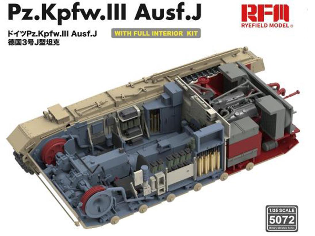 Pz. Kpfw. III Ausf. J with full interior (Vista 5)