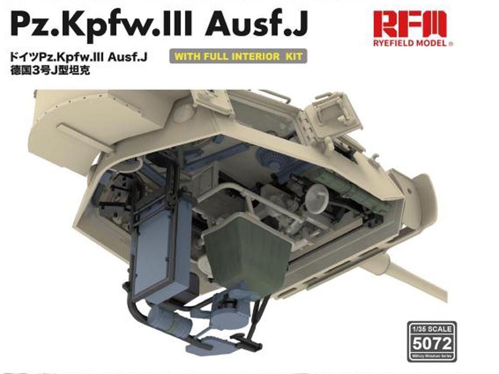 Pz. Kpfw. III Ausf. J with full interior (Vista 7)