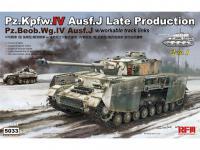 Pz.kpfw.IV Ausf.J Late Prod. Pz.Beob.Wg.IV Ausf.J 2in1 (Vista 7)