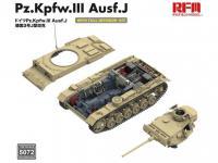 Pz. Kpfw. III Ausf. J with full interior (Vista 11)