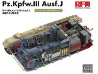 Pz. Kpfw. III Ausf. J with full interior (Vista 12)