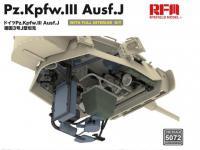 Pz. Kpfw. III Ausf. J with full interior (Vista 14)