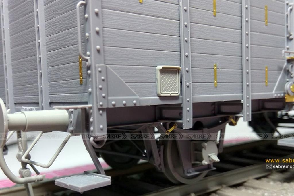 Vagón cubierto del Ferrocarril Alemán G1  (Vista 5)