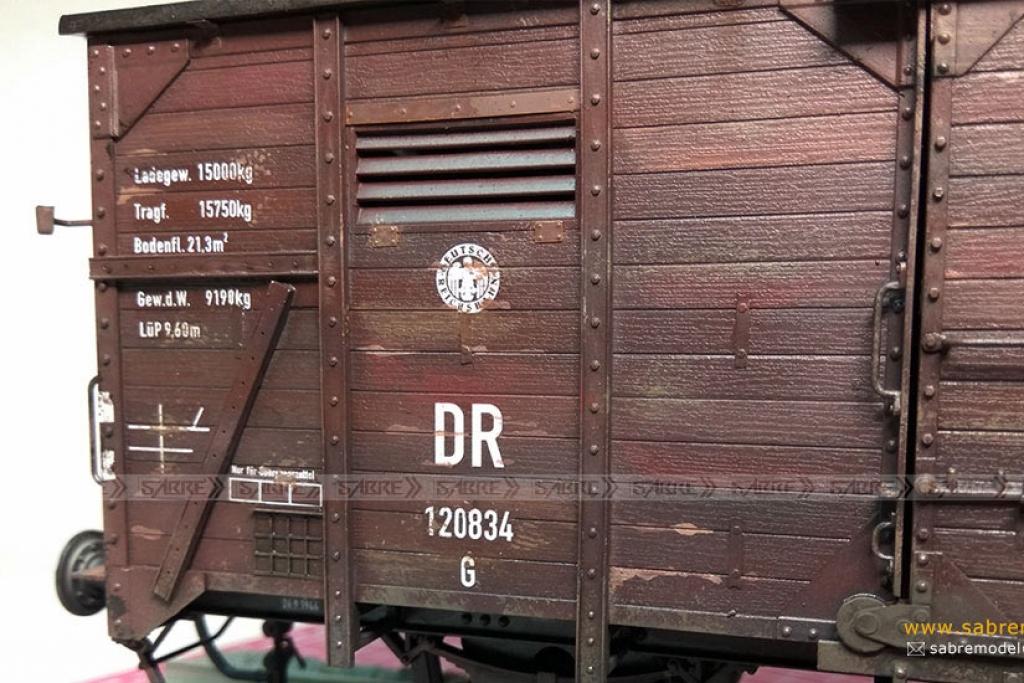 Vagón cubierto del Ferrocarril Alemán G1  (Vista 7)