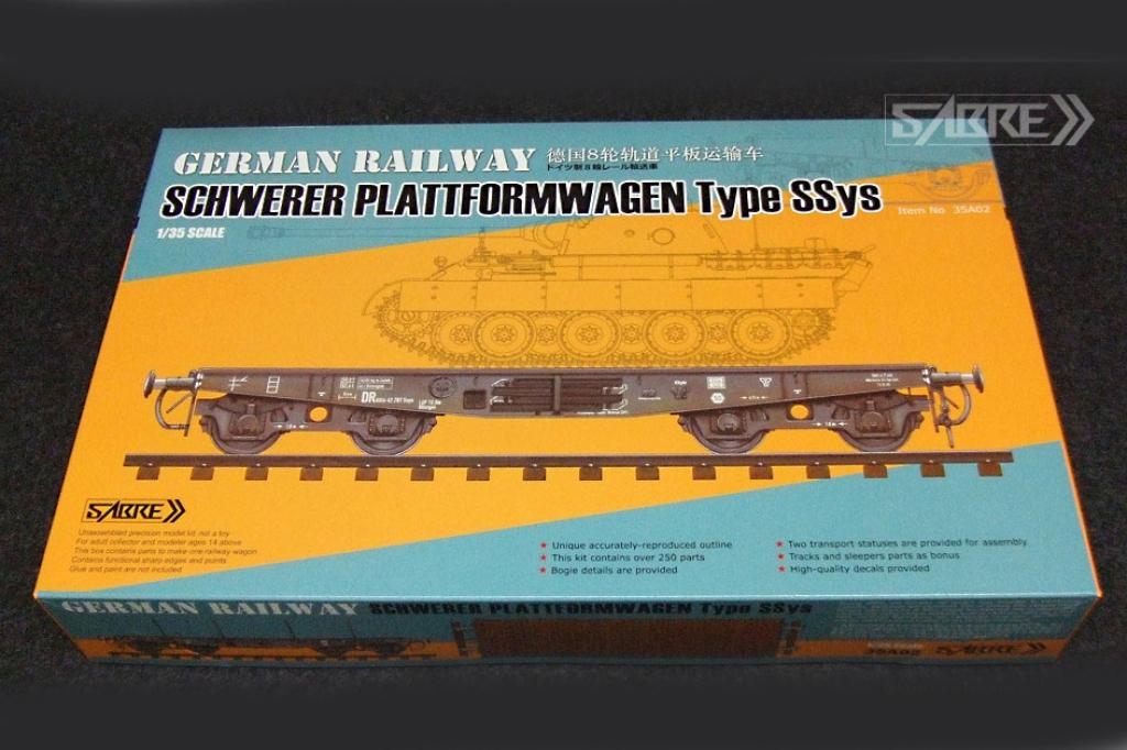 Plataforma Ferrocarril Alemana Tipo SSys - Ref.: SABR-35A02