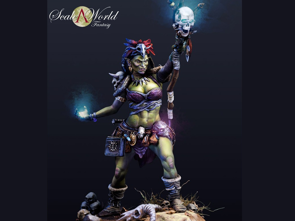 Aruh Ka, The Shamna Orc  (Vista 3)