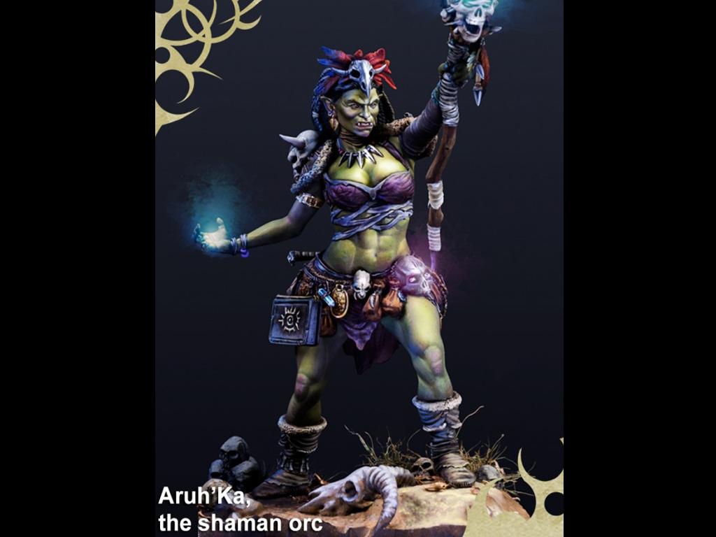 Aruh Ka, The Shamna Orc  (Vista 5)