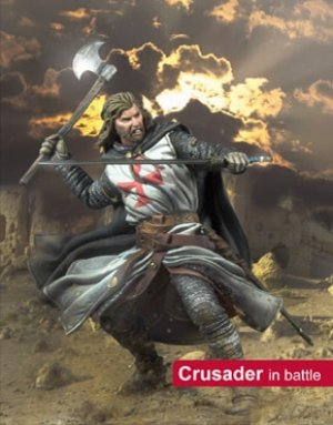 Cruzado en batalla  (Vista 1)