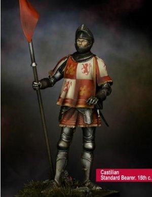 Castilian Standard Bearer 15th.s  (Vista 1)