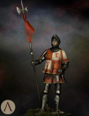Castilian Standard Bearer 15th.s  (Vista 2)