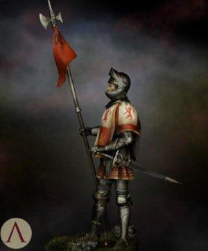 Castilian Standard Bearer 15th.s  (Vista 3)