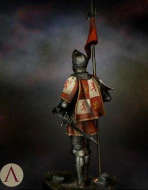 Castilian Standard Bearer 15th.s  (Vista 4)