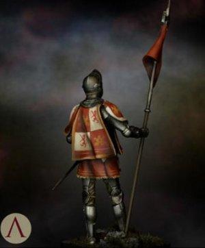Castilian Standard Bearer 15th.s  (Vista 5)