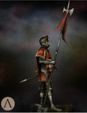 Castilian Standard Bearer 15th.s  (Vista 6)